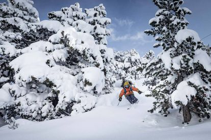 The new Eth Coret run at the Baqueira resort in Lleida.