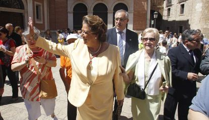 Longtime Valencia mayor Rita Barberá is leaving after over 20 years in office.