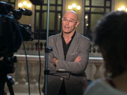 Raül Romeva says he is not considering running for Catalan premier.