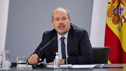 Justice Minister Juan Carlos Campo.