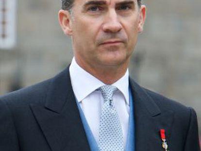 Felipe VI has vowed to make the monarchy more transparent.