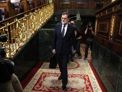 Prime Minister Mariano Rajoy.