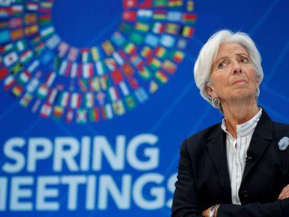 IMF chief Christine Lagarde.