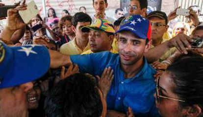 Opposition leader Henrique Capriles has rejected Vatican-mediated talks with the government.