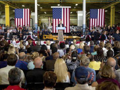 Clinton at Futuramic Tool & Engineering in Warren, Macomb County, Michigan.