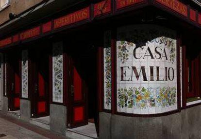 Casa Emilio in Madrid.