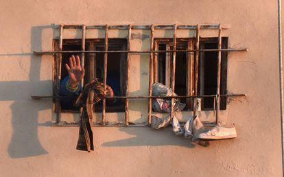 Topo Chico prison in Monterrey, scene of a riot in February that left 49 dead.