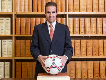 Former soccer player Borja Criado is now a public notary in Granada.