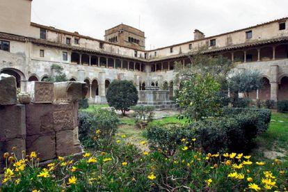 Interior of the monastery.
