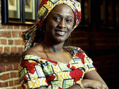 Congolese journalist Caddy Adzuba.
