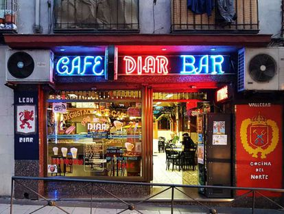 One of Madrid's traditional bars.