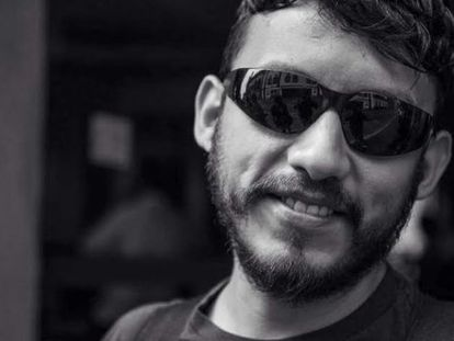 Mexican photojournalist Rubén Espinosa who was murdered on Friday.