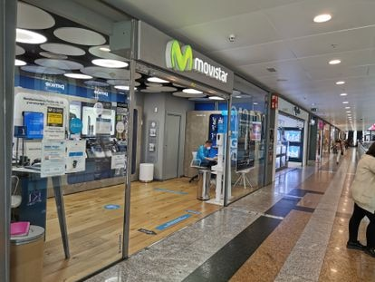 Movistar, owned by Telefónica, has seen a drop in revenue due to low-cost competition.