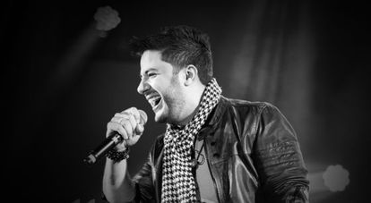 Singer Cristiano Araújo.