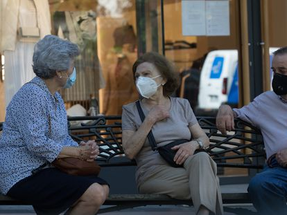 Residents in Madrid, the epicenter of the coronavirus outbreak in Spain.