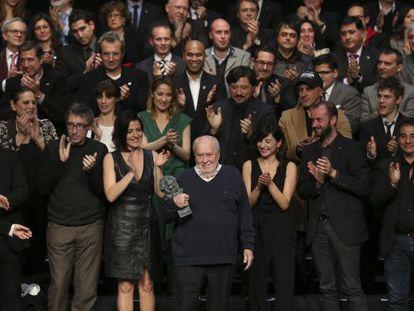 Filmmaker Jaime de Armiñán receives his lifetime achievement Goya.