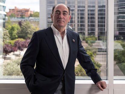 Ignacio Galán, chairman of Iberdrola, at the company's headquarters in Madrid.