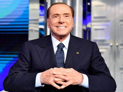 Silvio Berlusconi in Rome in March 2018.