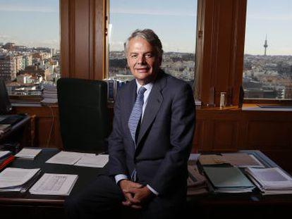 Ignacio Garralda in his Madrid office.