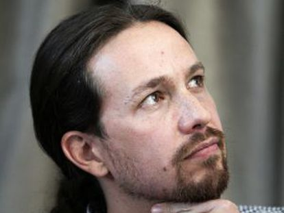 Pablo Iglesias, in a photo from last month.