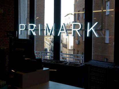 A Primark store in Madrid.
