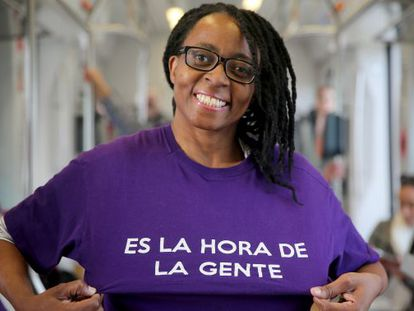 Rita Bosaho is top of the list for Alicante province for emerging party Podemos.