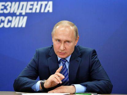 Russian President Vladímir Putin.