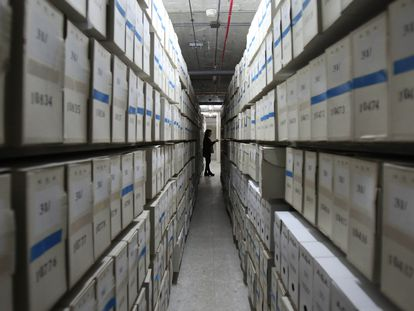 Archive in Alcalá de Henares (Madrid).