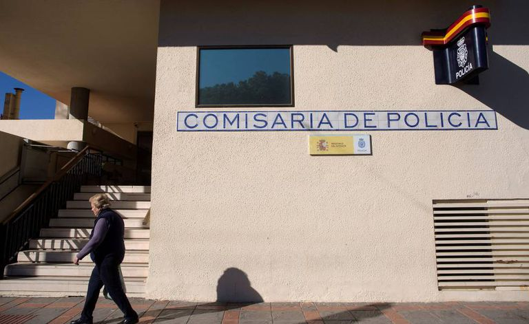 Police station in Fuengirola, Málaga.