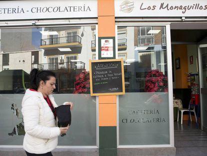 The Los Monaguillos café in Malaga.