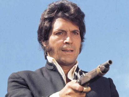 A still shot from the TV series 'Curro Jiménez,' about a highwayman who fought the French invaders.