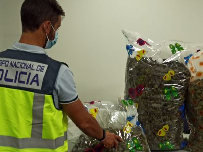 The National Police arrested eight people in various operations against drug trafficking during the Christmas campaign.