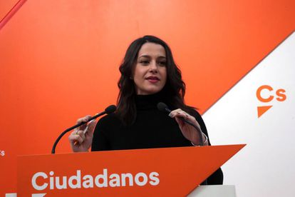 The Catalan branch of Ciudadanos, under local leader Inés Arrimadas, was the most voted party at the regional election of December 21.