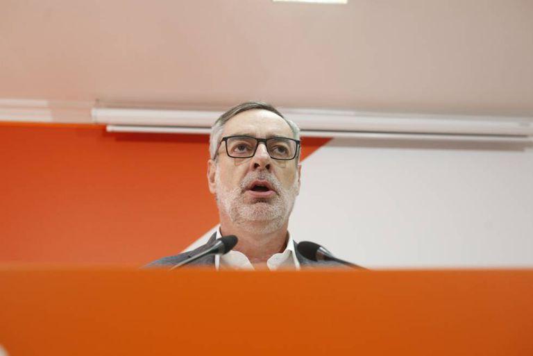 Ciudadanos general secretary José Manuel Villegas.