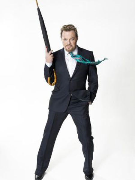 Comedian Eddie Izzard, who will be appearing in Madrid in April.