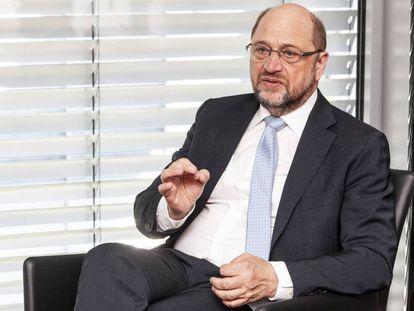 German politician Martin Schulz.