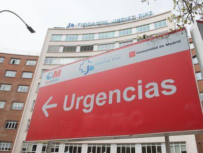 The Fundación Jiménez Díaz University Hospital in Madrid.