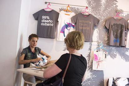 Design store Clandestina opened in February on busy Villegas street.