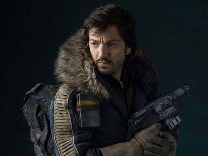 Diego Luna como Cassian Andor en 'Rogue One'.