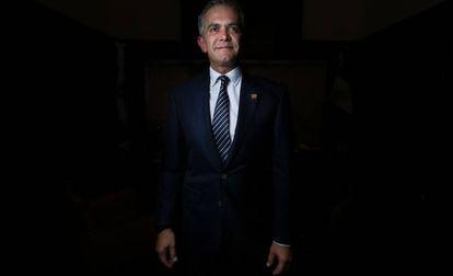 Mexico City Mayor Miguel Ángel Mancera.