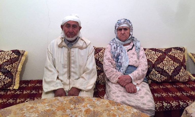 Aqbouch Abouyaaqoub y Hychami Charifa, the grandparents of the lead suspect behind last week's Barcelona attacks.