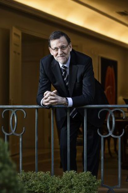"""""""I cannot approve a Catalan referendum; the Constitution does not allow it,"""" Rajoy told EL PAÍS."""