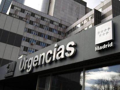 The ER at La Paz hospital in Madrid.