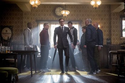 Dressed to kill: Colin Firth in 'Kingsman: The Secret Service.'