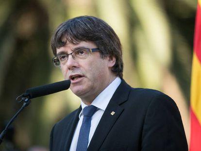 Carles Puigdemont, Catalan regional premier.