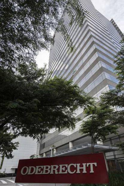The Odebrecht HQ in São Paulo (Brasil), in a March 2017 file photo.