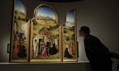 Bosch triptych 'The Adoration of the Magi'
