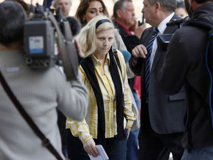 Purificación Betegón, who has testified this week in a court investigation into Spain's stolen babies.