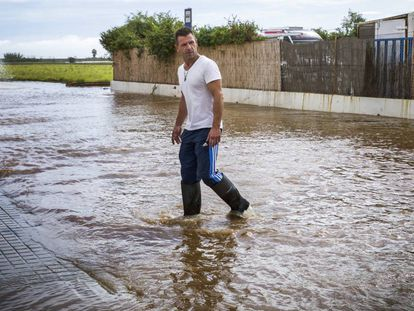 The Valencia town of Cuiper was flooded on October 19.