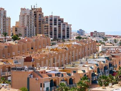 Residential developments in Torrevieja (Alicante).